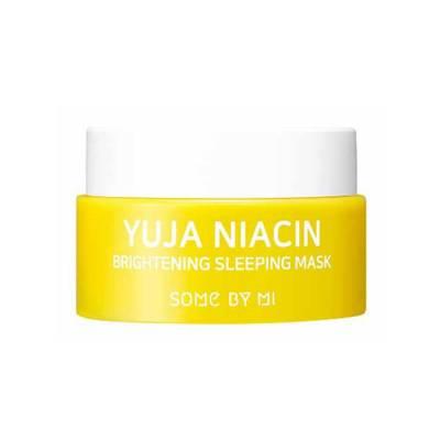 Миниатюра осветляющей ночной маски Some By Mi Yuja Niacin Brightening Sleeping Mask - 15 мл