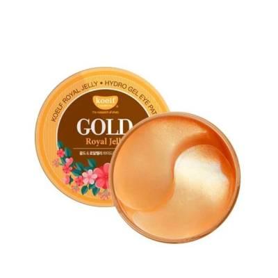 Гидрогелевые патчи для глаз с золотом Koelf Gold & Royal Jelly Eye Patch - 60 шт
