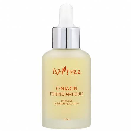 Осветляющая ампула с витамином С и ниацинамидом IsNtree C-Niacin Toning Ampoule - 50 мл