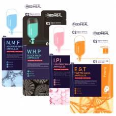 Двухэтапный набор для лица MEDIHEAL Mask Ampoulex - 3 мл+25 мл