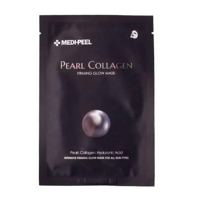 Разглаживающая маска с жемчугом и коллагеном Medi-Peel Pearl Collagen Mask - 25 гр