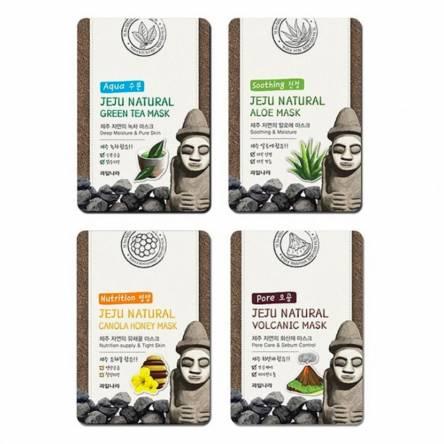 Тканевая маска для лица WELCOS Jeju Natural Mask - 20 гр