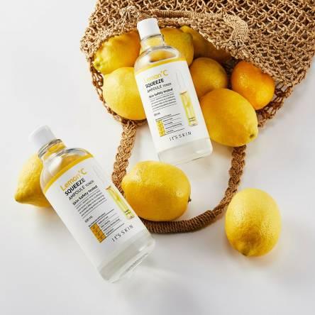 Тоник для лица с экстрактом лимона It's Skin Lemon' C Squeeze Ampoule Toner - 500 мл