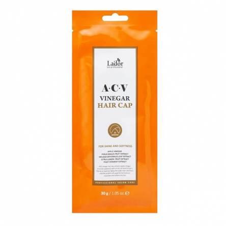 Маска-шапочка для волос с яблочным уксусом Lador ACV Vinegar Hair Cap - 30 гр