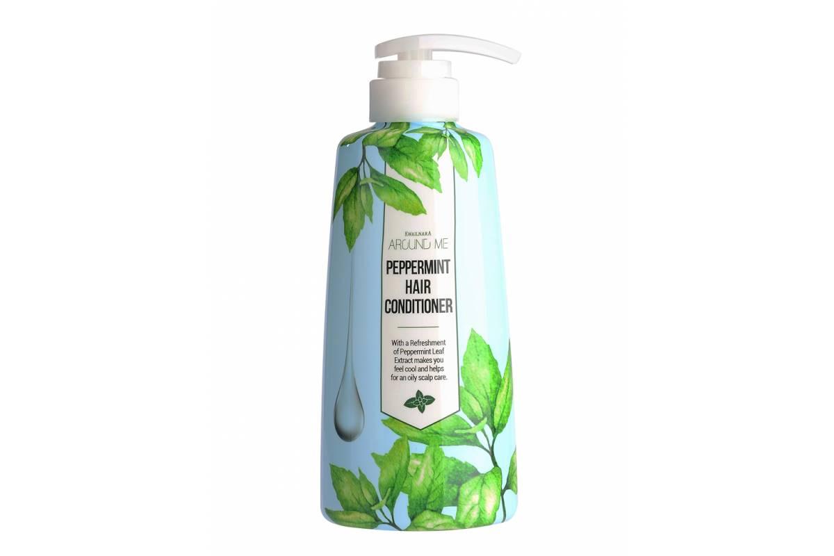 Кондиционер для волос с мятой Welcos AROUND ME Peppermint Hair Conditioner - 500 мл