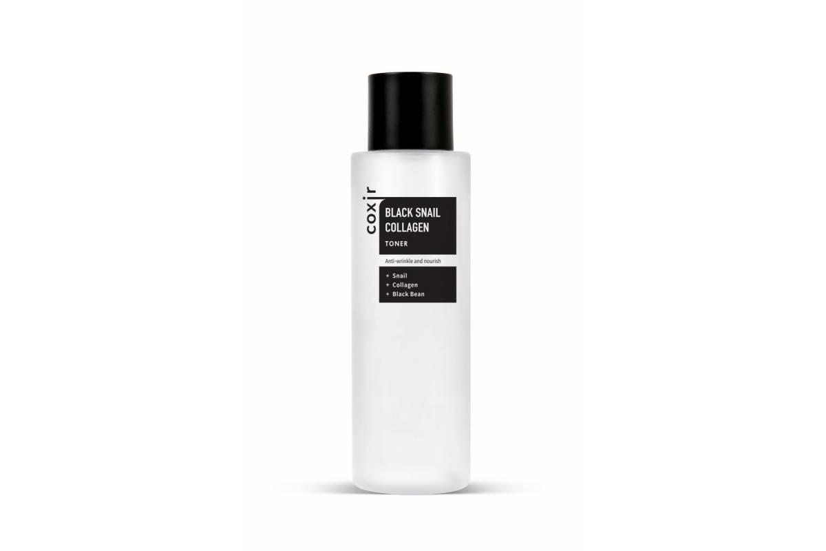 Антивозрастной тонер с муцином улитки COXIR Black Snail Collagen Toner - 150 мл