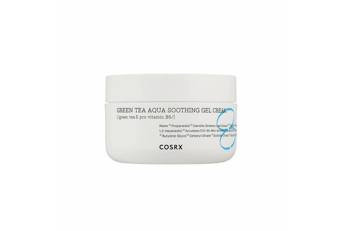 Успокаивающий гель-крем с зелёным чаем COSRX Green Tea Aqua Soothing Gel Cream - 50 мл