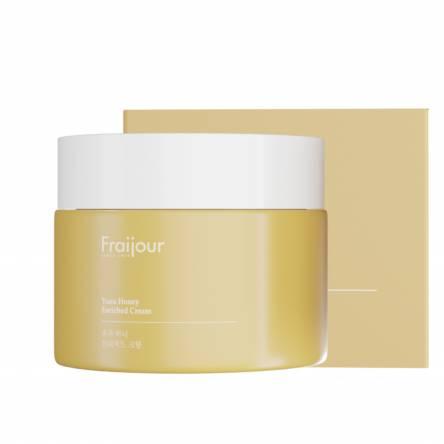 Крем с прополисом и экстрактом юдзу EVAS Fraijour Yuzu Honey Enriched Cream - 50 мл