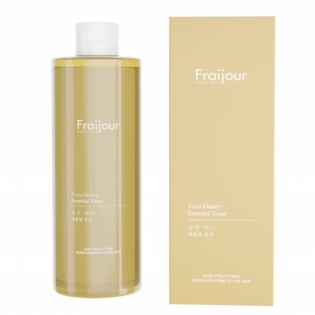 Тоник с прополисом и экстрактом юдзу EVAS Fraijour Yuzu Honey Essential Toner - 250 мл