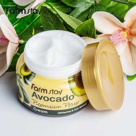 Крем для лица с маслом косточек авокадо FarmStay Avocado Premium Pore Cream - 100 мл