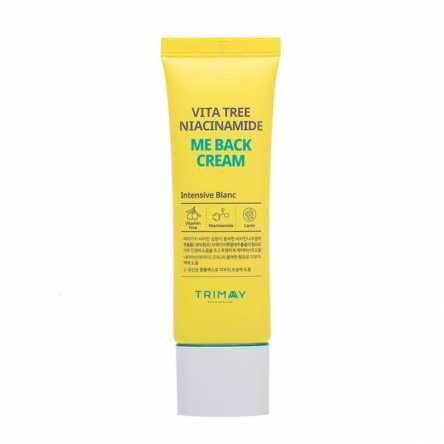 Осветляющий крем с ниацинамидом Trimay Vita Tree Niacinamide Me Back Cream - 50 гр