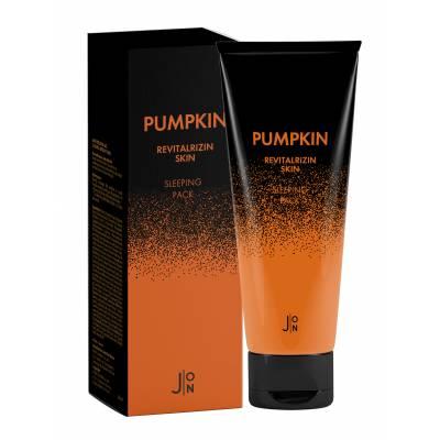 Ночная маска для лица с тыквой J:ON Pumpkin Revitalizing Skin Sleeping Pack - 50 гр