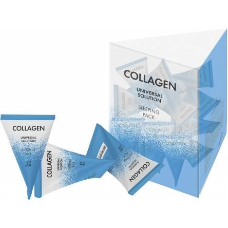 Ночная маска с коллагеном J:ON Collagen Universal Solution Sleeping Pack - 5 гр
