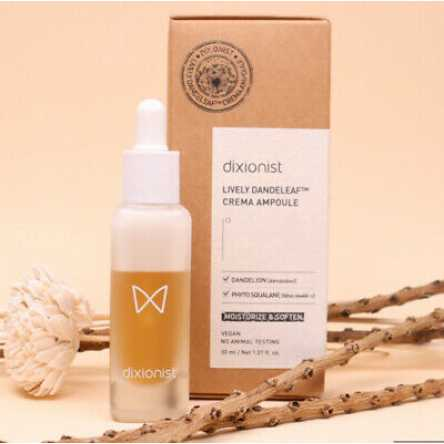 Миниатюра крем-сыворотки для лица DIXIONIST Lively Dandeleaf Crema Ampoule Mini - 10 мл