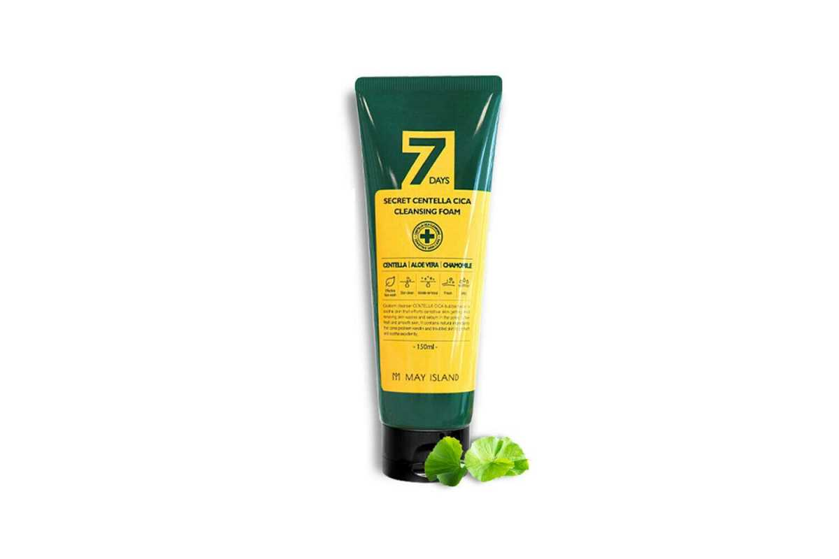 Пенка для проблемной кожи с центеллой May Island 7 Days Secret Centella Cica Cleansing Foam - 150 мл