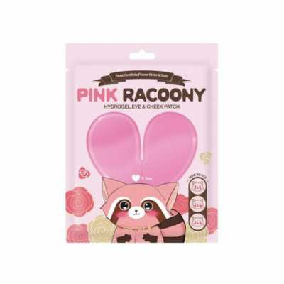 Гидрогелевые патчи для глаз и щек SECRET KEY Pink Racoony Hydro-Gel Eye and Cheek Patch - 3 шт