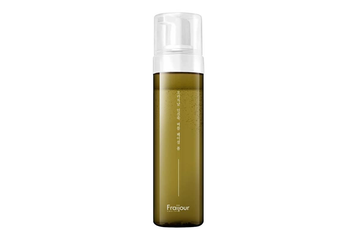Гипоаллергенная пенка для умывания Fraijour Original Artemisia Bubble Facial Foam - 200 мл