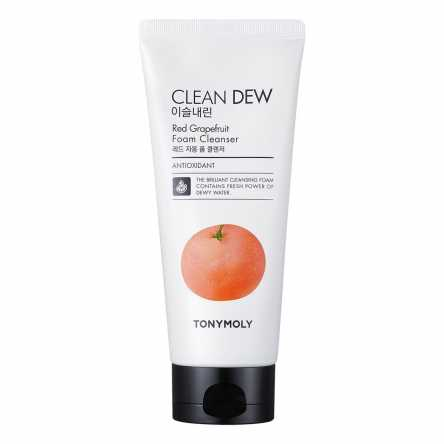 Пенка для умывания с грейпфрутом TONY MOLY Clean Dew Red Grapeаruit Foam Cleanser - 180 мл