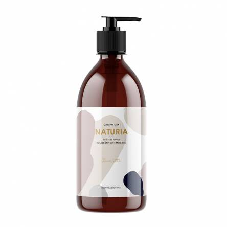 Гель для душа шоколад EVAS Naturia Creamy Milk Body Wash Choco Latte - 750 мл