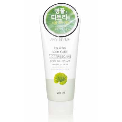 Крем-масло для тела с центеллой Welcos Around Me Cicatreecare Body Oil Cream - 200 мл