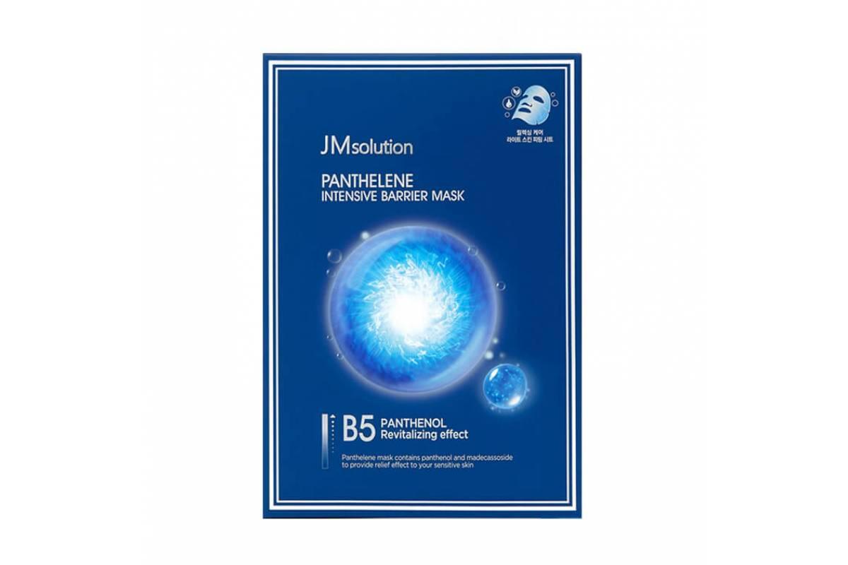 Увлажняющая маска с пантенолом и CICA-комплексом JMsolution Panthelene Intensive Barrier Mask - 30 мл