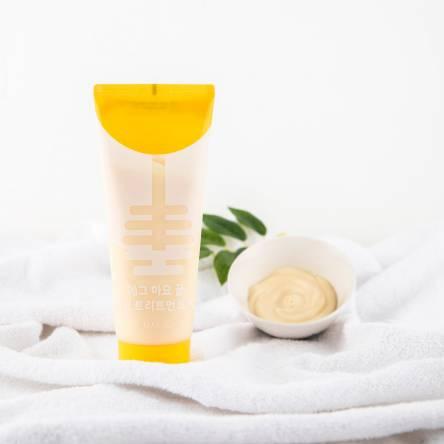 Питательная маска для волос May Island Egg Mayonnaise Honey Hair Treatment Pack - 100 мл