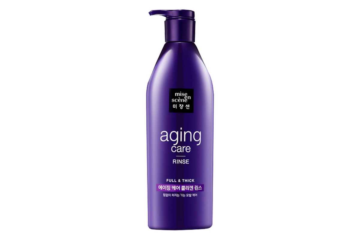 Антивозрастной кондиционер для волос Mise en Scene Anti-Aging Full and Thick Rinse - 680 мл