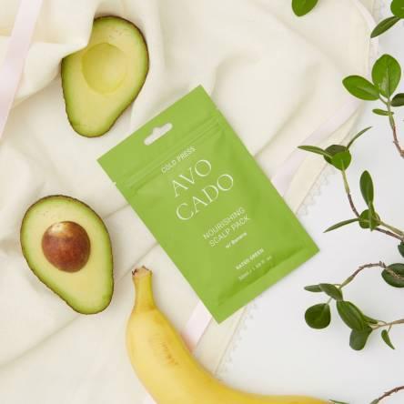 Питательная маска для кожи головы с маслом авокадо RATED GREEN Avocado Nourishing Scalp Pack - 50 мл