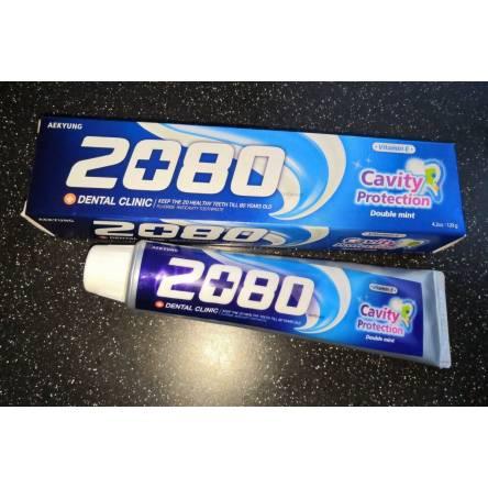 Зубная паста с мятой Dental Clinic 2080 Cavity Protection Double Mint - 120 гр