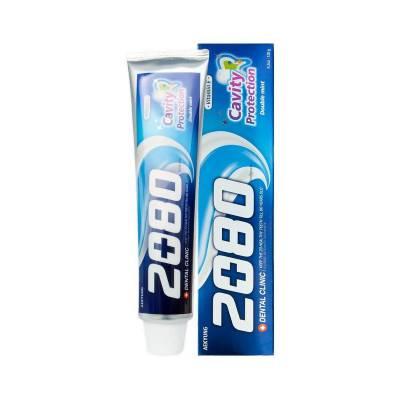 Миниатюра зубной пасты с мятой Dental Clinic 2080 Cavity Protection Double Mint - 20 гр