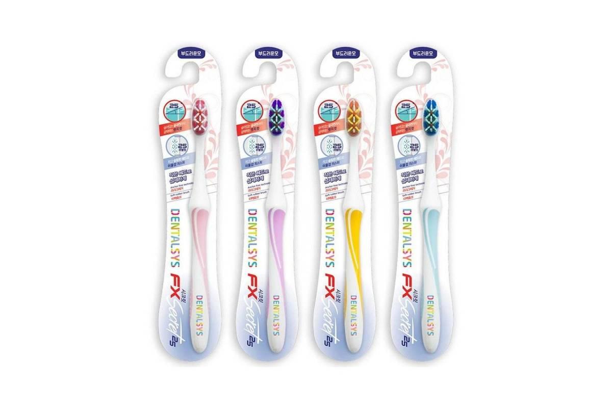 Зубная щетка с тройным эффектом Dentalsys FX3 Secret 25