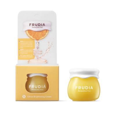 Миниатюра крема для лица с цитрусами Frudia Citrus Brightening Cream - 10 мл