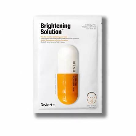 Осветляющая тканевая маска с глутатионом Dr.Jart+ Brightening Solution - 30 мл