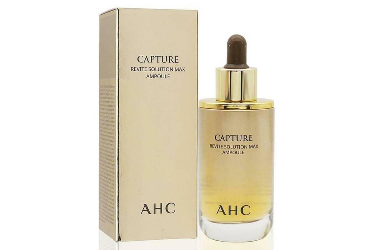 Восстанавливающая сыворотка для лица AHC Capture Revite Solution Max Ampoule - 50 мл