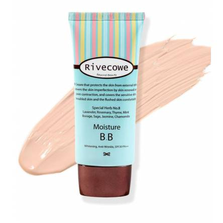 Увлажняющий ББ-крем RIVECOWE Beyond Beauty Moisture BB SPF30 РА+++ - 40 мл