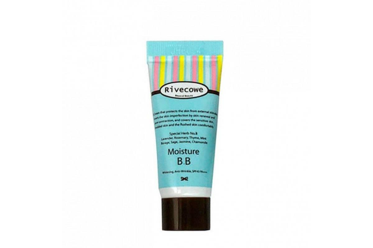 Миниатюра ББ-крема RIVECOWE Beyond Beauty Moisture BB SPF30 РА+++ - 5 мл