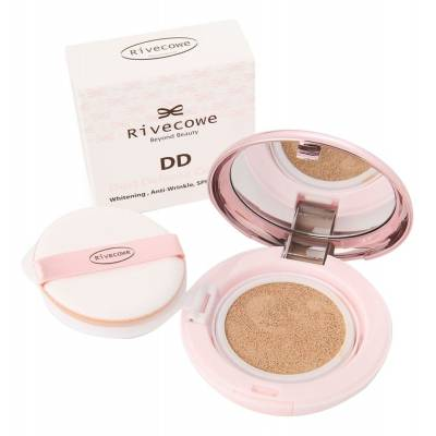 Тональный кушон для лица Rivecowe Beyond Beauty DD Dust Defense Cushion SPF50+ РА+++ - 13 гр