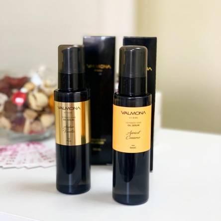 Сыворотка для волос ваниль Evas Valmona Ultimate Hair Oil Serum Amber Vanilla - 100 мл