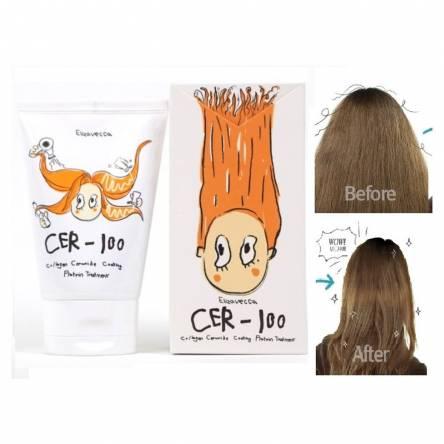 Маска для волос с коллагеном Elizavecca CER-100 Collagen Ceramid Coating Protein Treatment - 100 мл