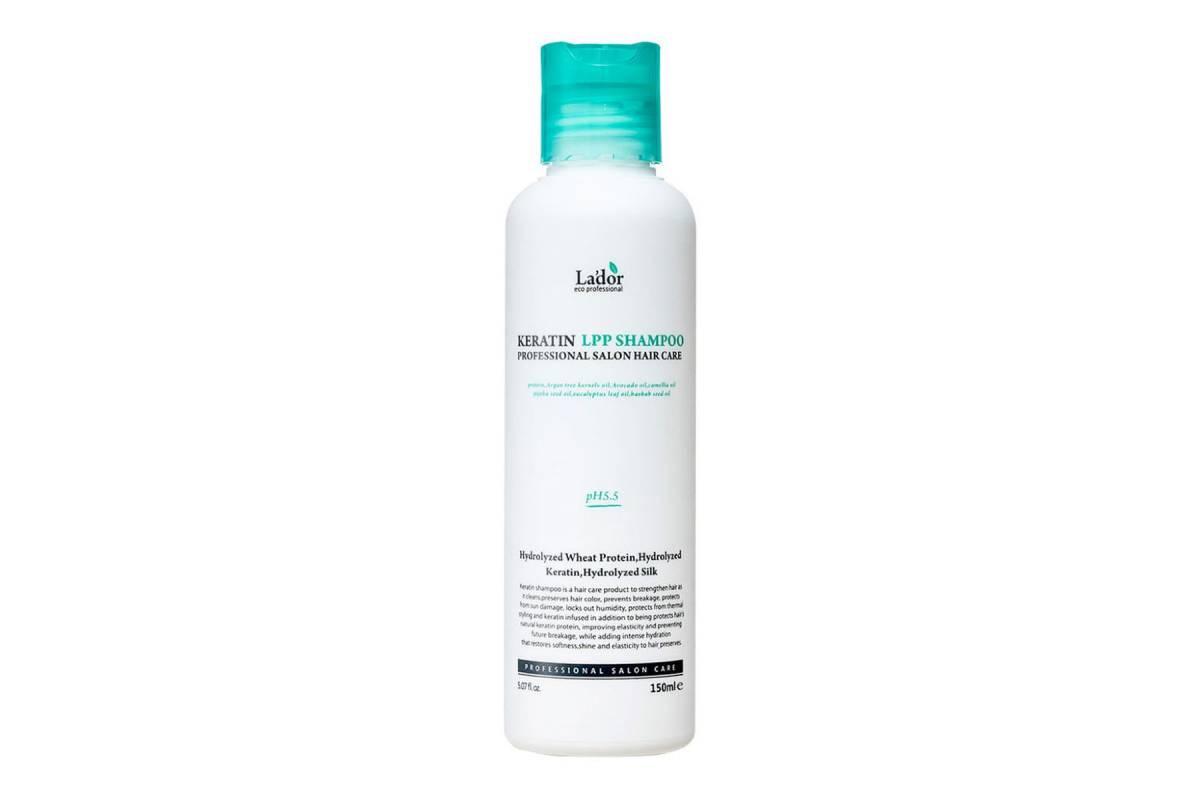 Бессульфатный кератиновый шампунь Lador Keratin LPP Shampoo - 150 мл