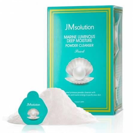 Энзимная пудра для умывания с жемчугом JMsolution Marine Luminous Deep Moisture Powder Cleanser Pearl - 1 шт