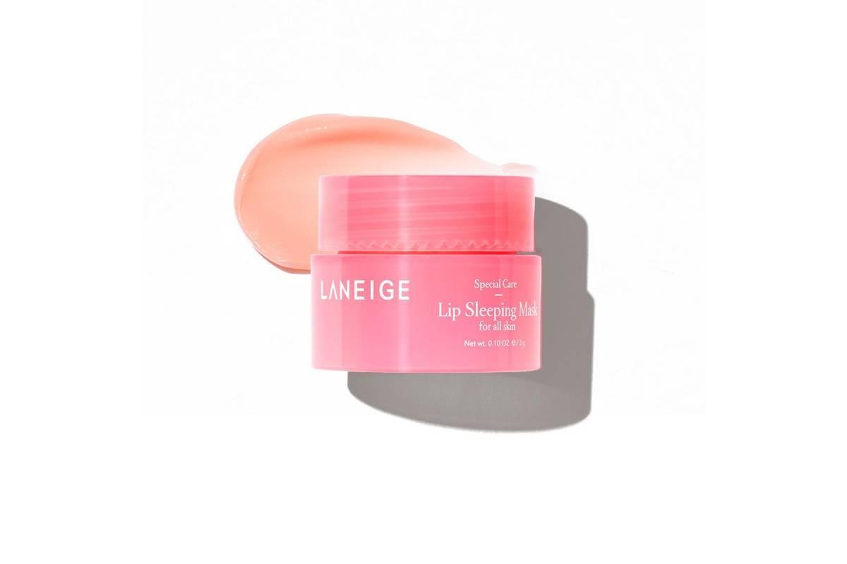 Миниатюра ночной маски для губ с ягодами Laneige Lip Sleeping Mask Berry - 3 гр