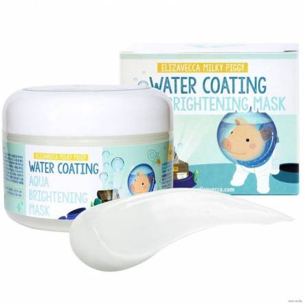 Увлажняющая маска для лица Elizavecca Milky Piggy Water Coating Aqua Brightening Mask - 100 мл
