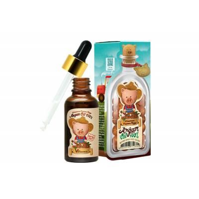 Аргановое масло для лица, тела и волос Elizavecca Farmer Piggy Argan Oil 100% - 30 мл