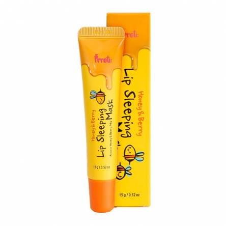 Ночная маска для губ с мёдом и ягодами PRRETI Honey & Berry Lip Sleeping Mask - 15 мл