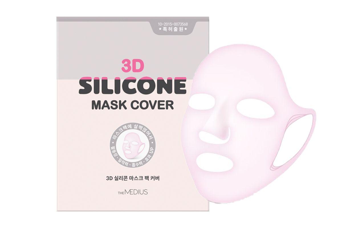Силиконовая маска для лица без пропитки Medius 3D Silicone Mask Cover - 28 гр
