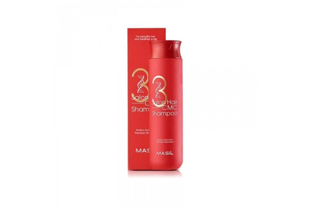 Восстанавливающий шампунь с керамидами Masil 3 Salon Hair CMC Shampoo - 300 мл