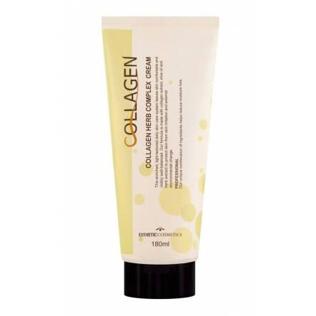Крем для лица с коллагеном Esthetic House Collagen Herb Complex Cream - 180 мл