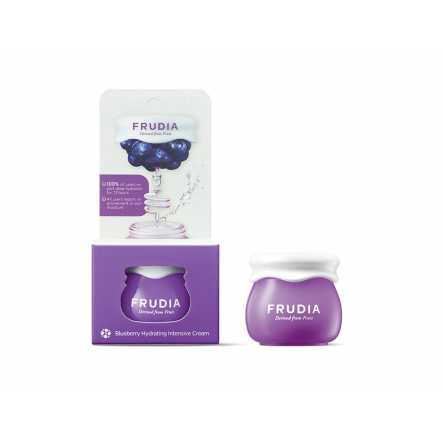 Миниатюра крема для лица с черникой Frudia Blueberry Hydrating Cream - 10 мл