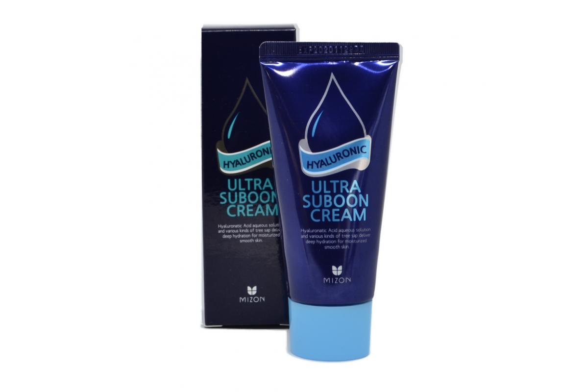 Крем для лица с гиалуроновой кислотой MIZON Hyaluronic Ultra Suboon Cream - 45 мл